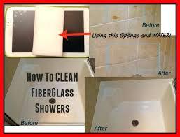 fiberglass bathtub cleaner how to clean fiberglass shower and bathtubs in one step fibreglass tub cleaner