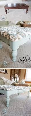 classic diy repurposed furniture pictures 2015 diy. DIY Tufted Coffee Table Bench Classic Diy Repurposed Furniture Pictures 2015