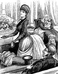 women s rights n women s rights were lampooned in this 1887 melbourne punch cartoon a hypothetical female member foists her baby s care on the house speaker