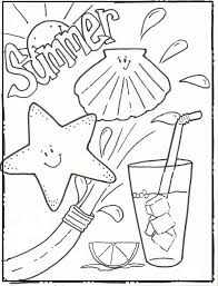 Small Picture Summer Coloring Printable Coloring Coloring Pages