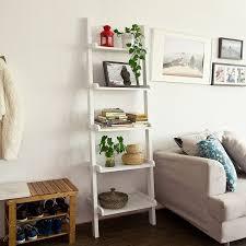 Full Size of Furniture:easy Home Leaning Bookshelf Black Decorative Ladder  Ladder Back Shelves Small ...