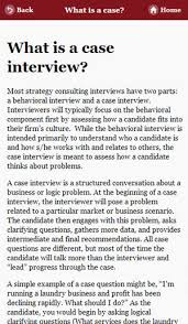 interview case business case interview prep by strategy on the app store
