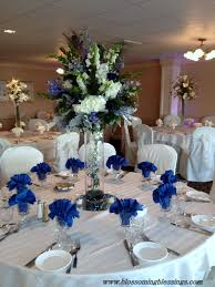 flowers for wedding reception centerpieces. royal blue reception wedding flowers, decor, flower centerpiece, arrangement flowers for centerpieces n
