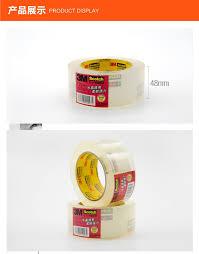 3M Scotch 1 roll High <b>Transparent</b> Sealing Tape 48mm*<b>50m</b> 48mm ...