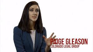 Attorney Paige Gleason   (720) 594-7360   Colorado Legal Group