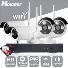 17 best ideas about wireless security system holdoor 4ch wifi wireless security system 1tb hd 720p network camera wireless wire ip camera waterproof