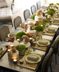 Decorating A Kitchen Table Holiday Table Decorating Ideas Christmas Decoration Cute Easy