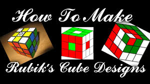 How To Make Designs On Rubik S Cube How To Make Rubiks Cube Designs
