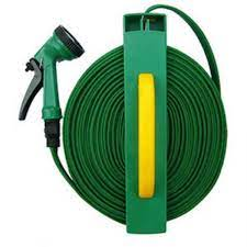 home garden compact collapsible hose