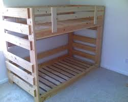 Compact Pallet Bunk Beds 142 Pallet Bunk Beds Diy Pallet Bunk Beds