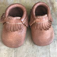 Freshly Picked Moccasins Size Chart Freshly Picked Brown Leather Baby Moccasins Size 1