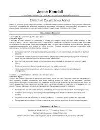 collection agent resume collections agent job description collection agent resume
