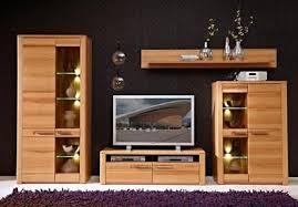 Exceptional ... Wohnwand 1 Nature Plus Anbauwand Wohnzimmer TV Board Kernbuche  Teilmassiv 2
