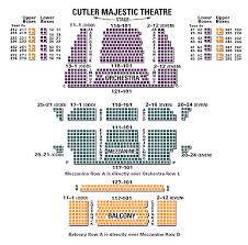 Majestic Theater Seating Chart Luxury Majestic Theater Nyc