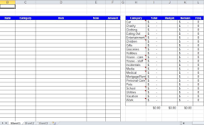 Tracking Expenses In Excel Daily Expenses Tracker Excel Template Free Download