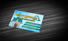 House Cleaning Services Name Card Printing