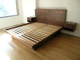 diy floating platform bed floating bed frame best floating bed frame ideas on bed frame diy