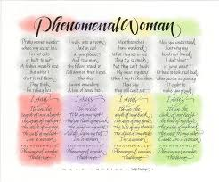 phenomenal woman wall art