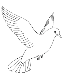 Printable Bird Coloring Pages For Adults Coloring Bird Flying Pages