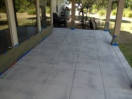 stained concrete patio gray. After Grinding The Acid Stain \u0026 Paint Off Concrete Stained Patio Gray C