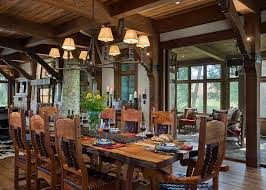 canada wood dining tables with traditional wine glasses room rustic and beam table setting