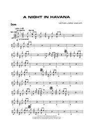 drums sheet music