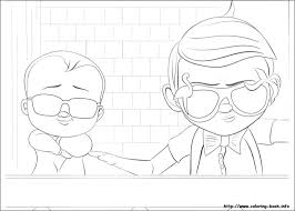 Boss Baby Coloring Pages For Free Download Jokingartcom Boss Baby
