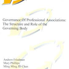 parn books governance of professional associations structure of governance of professional associations structure of governing body 2002