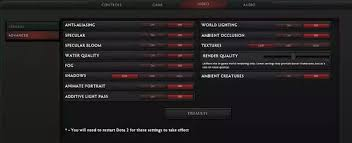 how to configure dota 2 to run on an old low spec pc