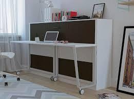 ashton murphy bed with desk american oak