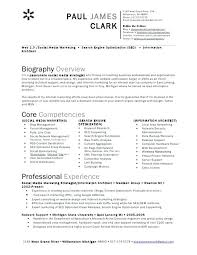 Social Media Resume Sample Social Media Manager Resume Examples ...