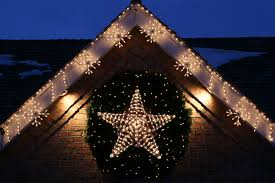 christmas outdoor lighting ideas. stars shaped of christmas on lighting design ideas for house exterior outdoor