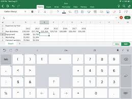 How To Create A Chart On Word Use Ipad Office To Create Charts In Powerpoint Or Word