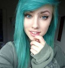 makeup do they mean hair emo the for is very attractive on her personality emo is very