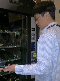 Google Wallet Vending Machine Gorgeous Google Wallet Swag Vending Machine Wap Review