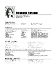 Sample Dance Resume For Audition Best of Dance Resume Template Dance Resume Professional Dance Resume Sample