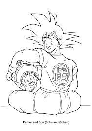Dragon Ball Z Coloring Pages Goku Kamehameha Epic All Dragon Ball Z
