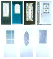 front door window inserts amazing entry glass insert kit exterior top with trim replacement