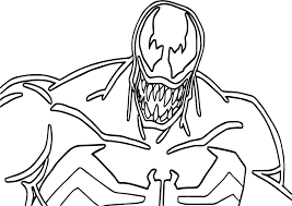 Free Printable Venom Coloring Pages For Kids And - menmadeho.me