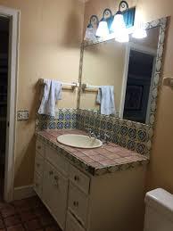 Paint A Bathroom Countertop Remodelaholic Chalk Paintr Bathroom Vanity Makeover