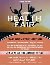 Health Fair Flyers 2 140 Customizable Design Templates For Health Postermywall