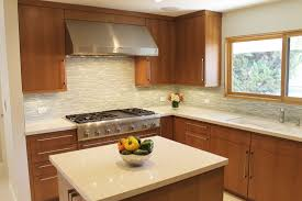 Modern Galley Kitchen Kitchen Exquisite Mid Century Modern Kitchen Backsplash