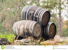 stack wine barrels. Three Stacked Wine Barrels Stack