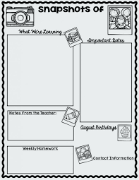 Teacher Newsletter Templates Free School Weekly High – Willconway.co