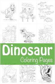 And when it comes to coloring dinosaurs, there's just no stopping them. 128 Best Dinosaur Coloring Pages Free Printables For Kids