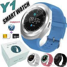 Đồng Hồ Thông Minh Mặt Tròn Smartwatch Y1 - Phong Cách Trẻ Hiện Đại