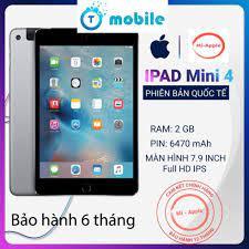 Máy tính bảng ipad mini 4 Quốc tế chính hãng bảo hành 6 tháng 1 đổi 1 tại  nhà trong 30 ngày nhà bán hàng Miapple chính hãng 8,000,000đ
