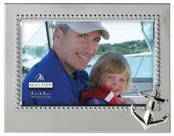 Malden International Designs Photo Frames Malden International Designs Vacation Memories Anchor Silver
