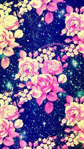 Vintage flowers galaxy wallpaper I ...