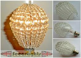 chandelier light bulb covers lighting design jawdropping crystal material for edison awesome home decor fantastic